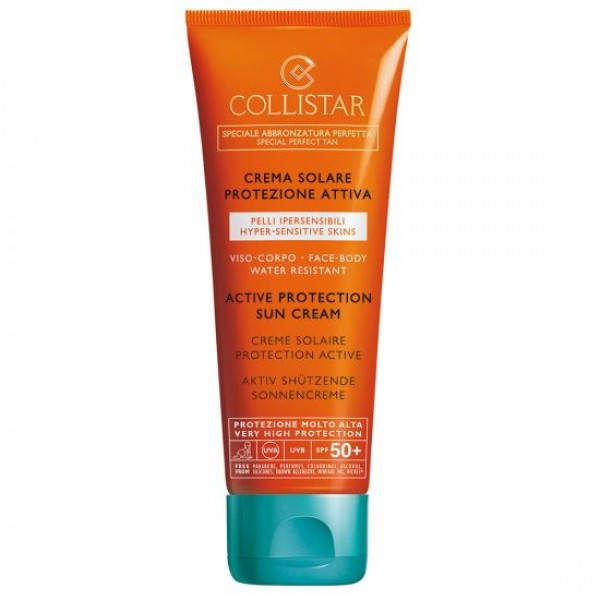 Collistar Active Protection Sun Cream SPF50 Cosmetica 100 ml