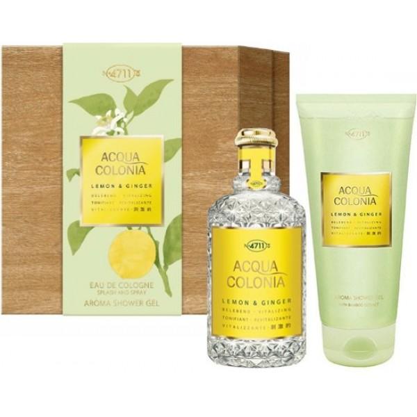 4711 Acqua Colonia Lemon & Ginger 170ml Edc + Showergel Geschenkset