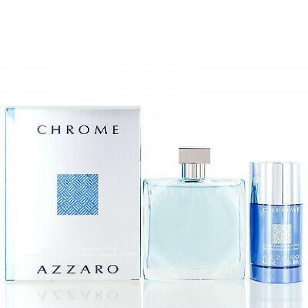Azzaro Chrome 100ml Edt + Deostick Geschenkset