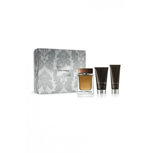 Dolce & Gabbana The One for Men 100ml Edt + ASB + SG Geschenkset