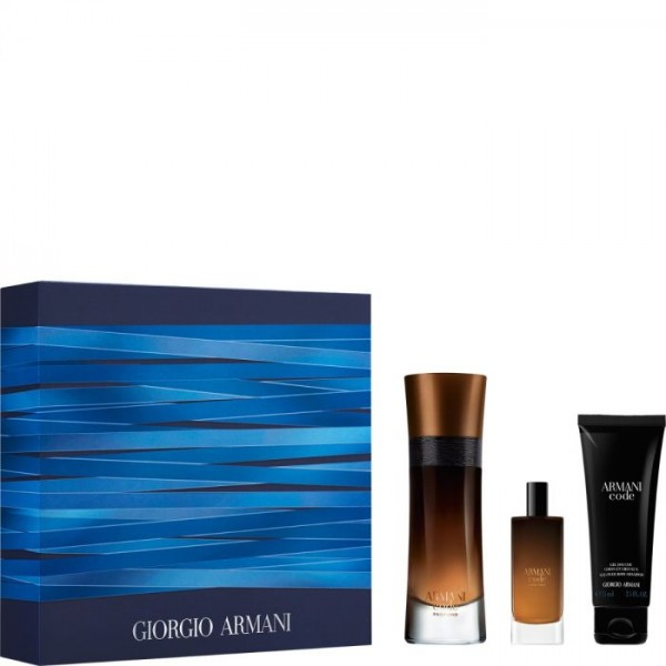 Armani Code Profumo 60ml Edp + Mini + Showergel Geschenkset