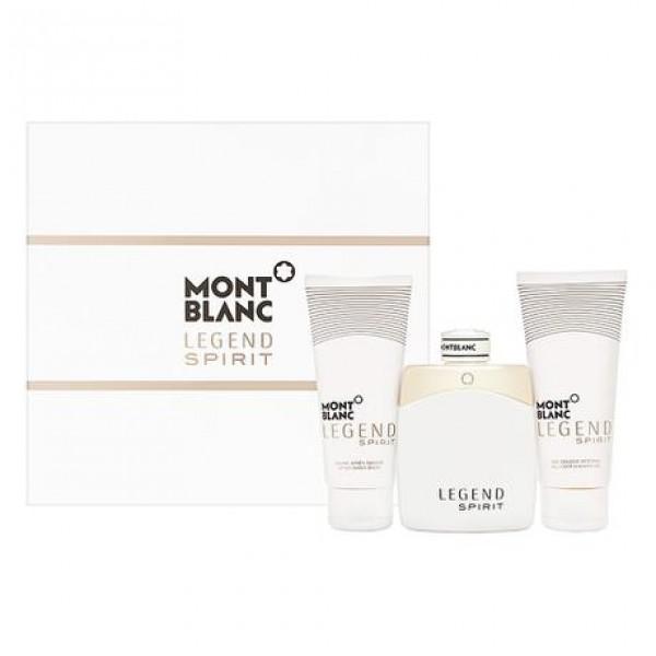 Mont Blanc Legend Spirit 100ml Edt + Aftershave + Douchegel Geschenkset