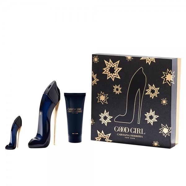 Carolina Herrera Good Girl 80ml Edp + Bodylotion +7 ml Mini Geschenkset