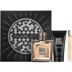 Guerlain L'Homme Ideal 100ml Edp + Mini + Showergel Geschenkset