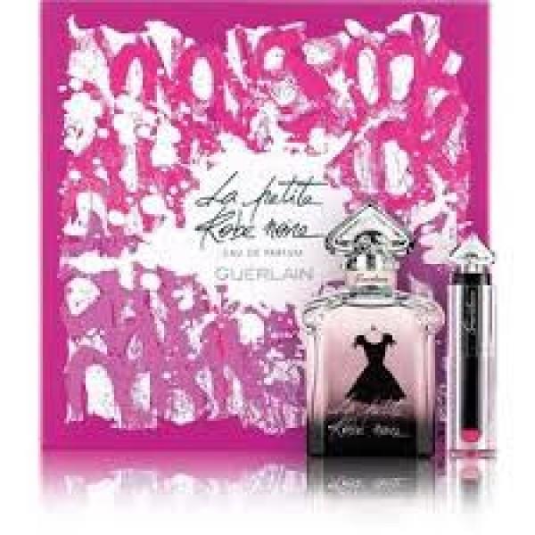 Guerlain La Petite Robe Noir 50 ml Edp + Lipstick  Geschenkset set