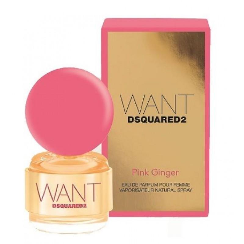 Dsquared 2 Want pink ginger Eau de Parfum 30 ml