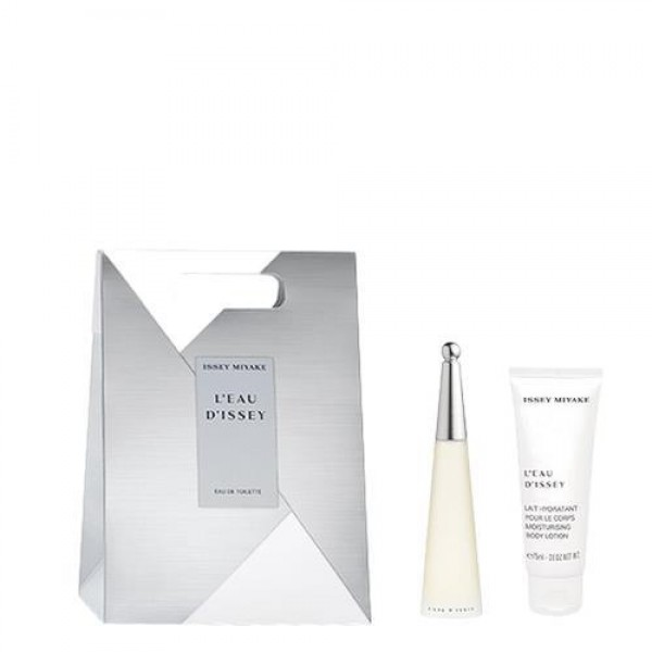 Issey Miyake L'Eau D'Issey 25ml Edt + Body Lotion 75ml Geschenkset Set