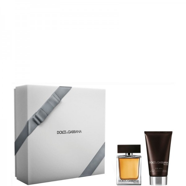 Dolce & Gabbana The One Men 50ml Edt + Aftershave 75ml Geschenkset Set