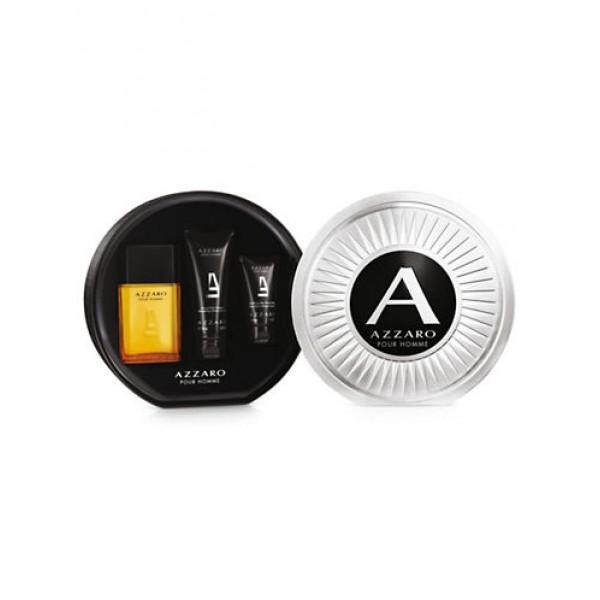 Azzaro Pour Homme 100ml Edt + 100 ml Shampoo + ASB 50ml  Geschenkset Set
