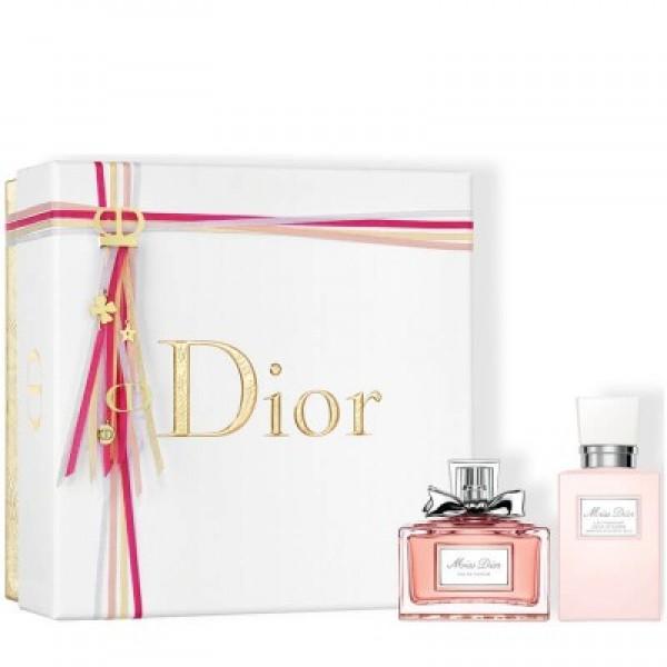 Christian Dior Miss Dior 50 ml Edp + 75 ml Body Milk Geschenkset