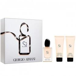 Armani Si 100 ml Edp +75 ml BL + 75 ml SG Geschenkset