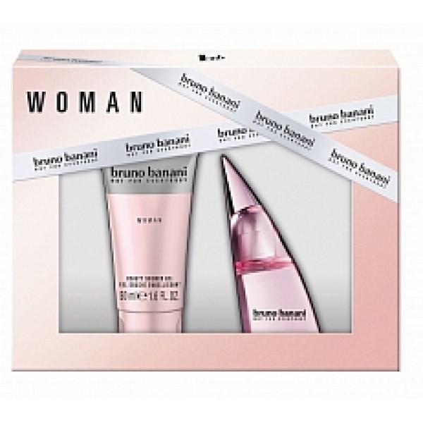 Bruno Banani Woman 20 ml + 50 ml Showergel Geschenkset