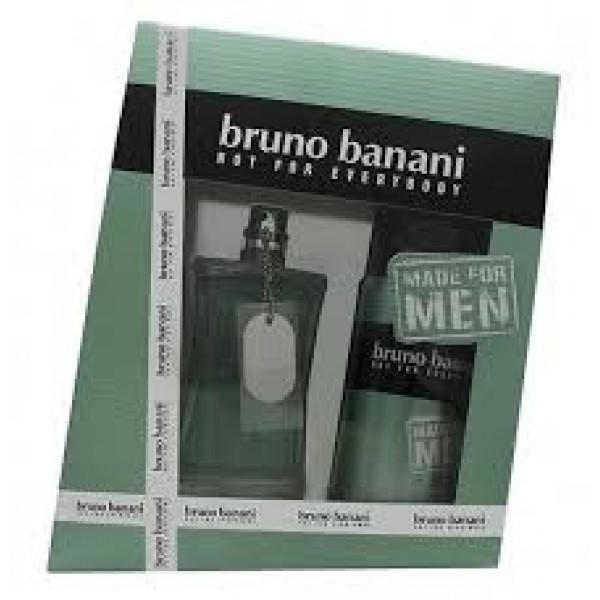 Bruno Banani Made for Men 75 ml Edt + 150 ml Deospray Geschenkset