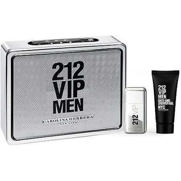 Carolina Herrera 212 VIP Men 50 ml Edt + 75 ml Showergel Geschenkset