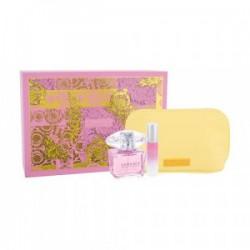 Versace Bright Crystal 90 ml Edt + 10ml Edt + Cosmetic Bag Geschenkset