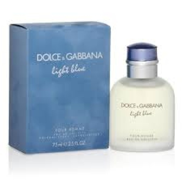 Dolce & Gabbana Light Blue pour homme Eau de toilet 75 ml