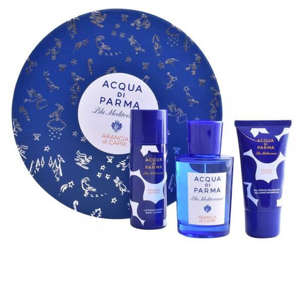 Acqua Di Parma Blu Naranja Capri 75ml Edt +Showergel + Bodylotion Geschenkset