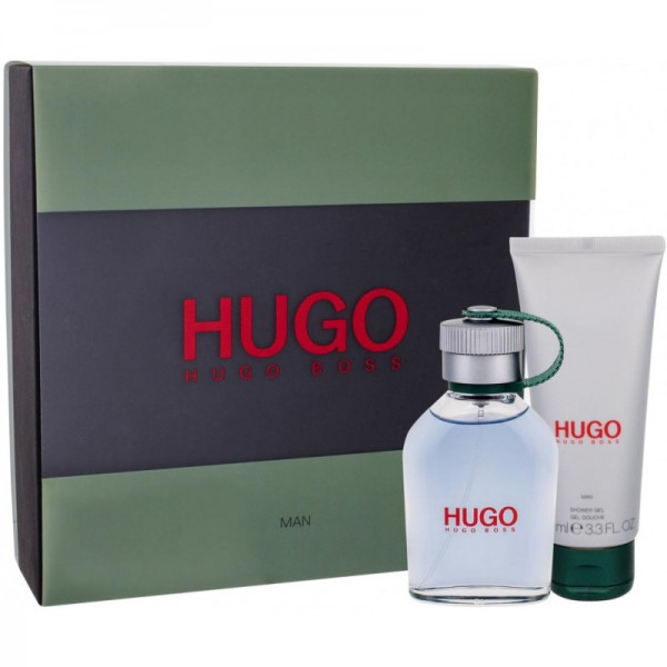 Hugo Boss Hugo Man 75ml Edt + 100ml Showergel Geschenkset