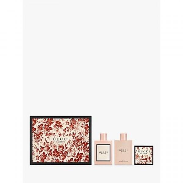 Gucci Bloom 100ml Edp + Bodyoil + Soap Geschenkset