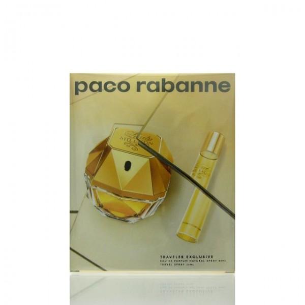 Paco Rabanne Lady Million 80ml Edp + Mini 20ml Edp